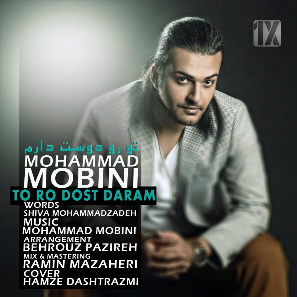 دانلود آهنگ جدید محمد مبینی به نام تو رو دوست دارم