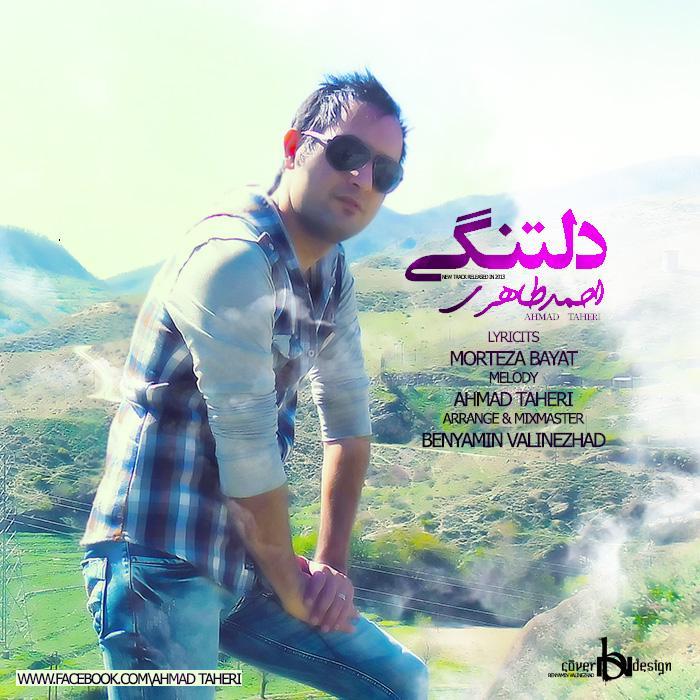 دانلود آهنگ جدید احمد طاهری به نام دلتنگی