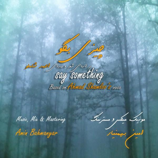 دانلود آهنگ جدید امین بهمن یار به نام چیزی بگو
